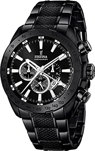 Festina Chrono Sport F16889/1 Mens Chronograph Second Time Zone (Chrono Watch Sport)