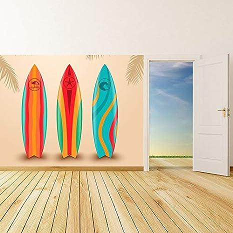 azutura Diseño de Surf Fotomurales Tabla de Surf Papel Pintado Dormitorio Deportivo Decoración del hogar Disponible en 8 Tamaños Grande Digital: Amazon.es: ...