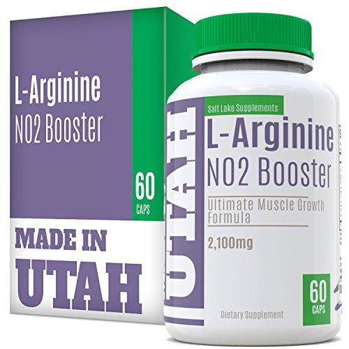 L-Arginine Blast NO2 oxyde nitrique Booster est une formule de renforcement musculaire extrême avec des acides aminés essentiels pour augmenter la masse musculaire et augmenter les niveaux d'énergie d'entraînement plus longtemps et plus dur pour des résul