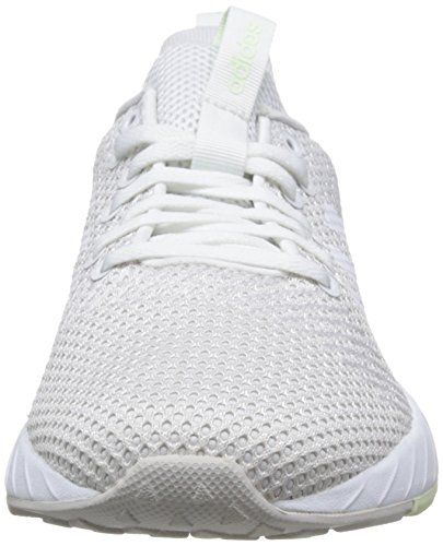 adidas Women's Questar BYD Low-Top Sneakers, Black/White, 8.5 UK Grey (Grey One/Footwear White/Aero Green 0)