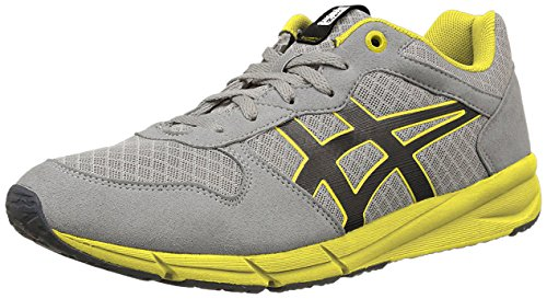 Onitsuka Gymnastics giallo Adults' Unisex Shaw Tiger Grigio Shoes Runner rqwaXrPv4