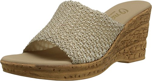 Onex Women's Bianca-2 Sandal,Natural Straw,39 EU (US Women's 9 (Bianca Footwear)