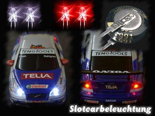 Dauerbeleuchtung Tuning Bausatz Slotcars Carrera GO Autos mit Licht Carrera Digital 143 Autos mit Licht GOKarli 101