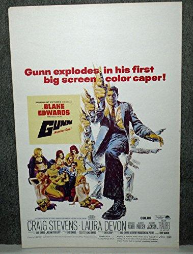 peter-gunn-original-1967-rolled-14x22-movie-poster-craig-stevens-laura-devon-blake-edwards
