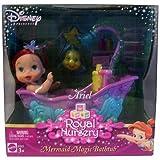 : Disney Princess Royal Nursery Little Mermaid Ariel Doll with Magic Bathtub