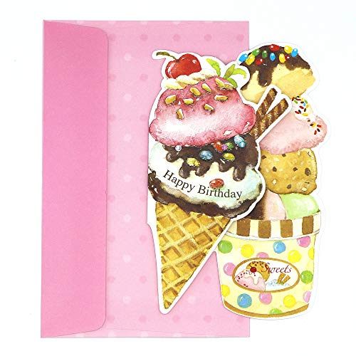 ice cream birthday card - 6