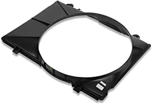FO3110107 OE Style Radiator Cooling Fan Shroud Assmbly Replacement for Ford F150 4.9L AT 92-97