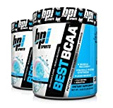 BPI Sports Best BCAA Peptide Linked Branched Chain Amino Energy Powder, 10.58oz, Pack of Two 30 Servings (BlueRaspberry 2 x 30svg) For Sale
