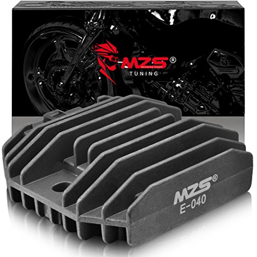 MZS Voltage Regulator Rectifier for Kawasaki Ninja 250R 600R EX250 ZX600 /GPX600R/GPZ600R/KEF 300 Lakota Bayou/KLR650 KL650/KLX250S/VN750 VN1500 Vulcan/ZL600/ZR-7 - Rectifier Kawasaki 1997 Regulator 1995