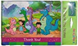 Dragon Tales Thank You Cards, set of 8