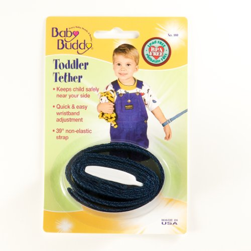 Baby Buddy Toddler Tether, Navy, Baby & Kids Zone