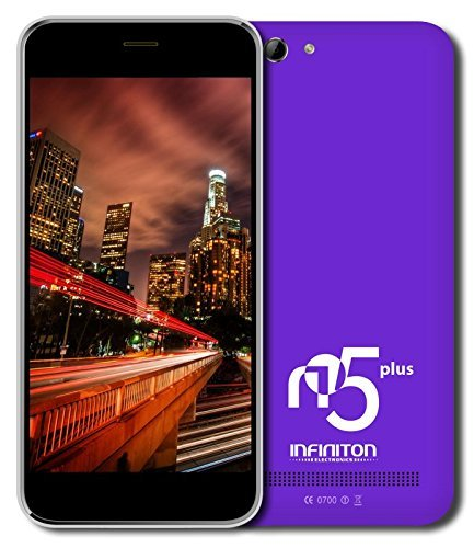 Infiniton-N5-Plus-Smartphone-de-5-WiFi-Bluetooth-Quad-Core-13-GHz-Dual-SIM-16-GB-Android-44-KitKat-color-prpura