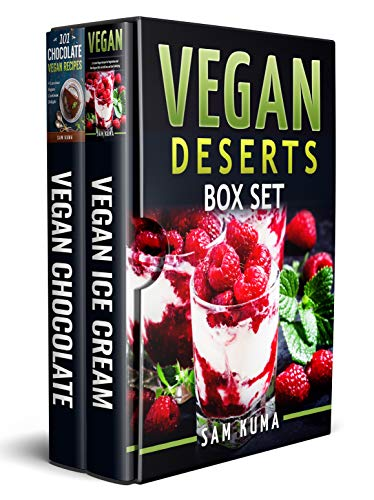 Vegan Deserts Box Set (Vegan Cookbook of Recipes that for sale  Delivered anywhere in USA