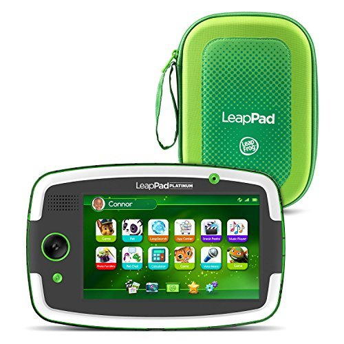 """LeapFrog LeapPad Platinum 7"""" HD Tablet with Carrying Case,"""