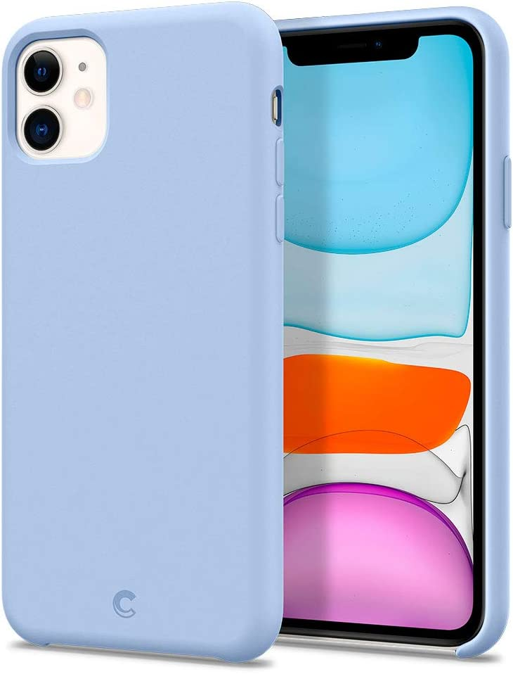 CYRILL Silicone Designed for Apple iPhone 11 Case (2019) - Cornflower