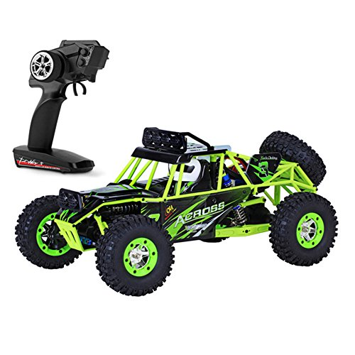 10 Off Road Electric Truck (High Speed RC Fast Race Cars Off-Road Vehicle Toy Radio Controlled Rock Four-wheel Drive Climbing Electric Remote Control Vehicle Truck for WLtoys 12428)