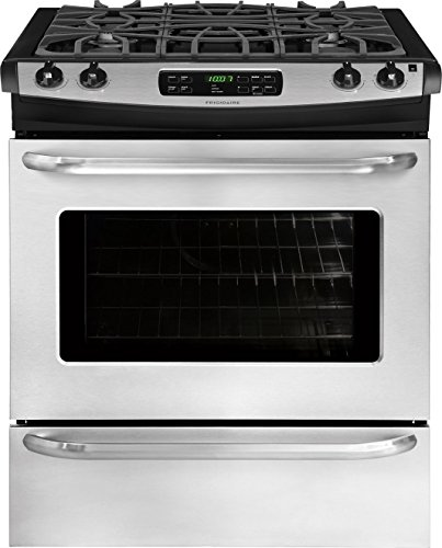 Frigidaire FFGS3025PS - 30' Stainless Steel Gas Slide-In Sealed Burner Range