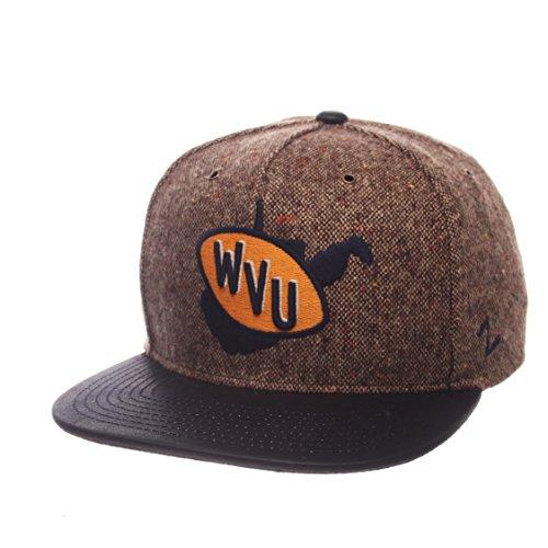 - Zephyr NCAA West Virginia Mountaineers Adult Men Legend Heritage Collection Hat, Adjustable, Tweed