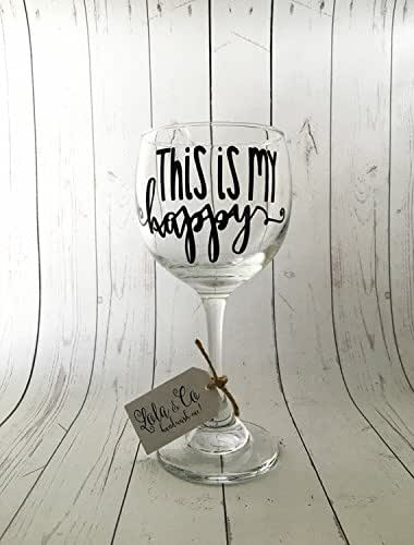 Amazon Com Funny Wine Glass Wine Glasses With Sayings Handmade