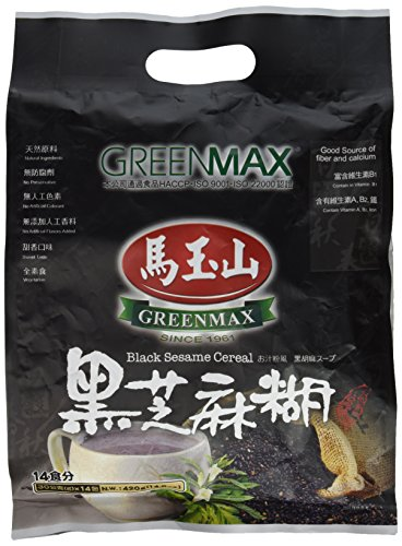 Greenmax - Black Sesame Cereal (Pack of 1)