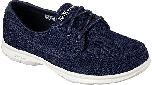 c6330fb33d7 Skechers Performance Women's Go Step-Deck Boat Shoe,Navy,7.5 M US - Buy  Online in Oman. | Apparel Products in Oman - See Prices, Reviews and Free  Delivery ...