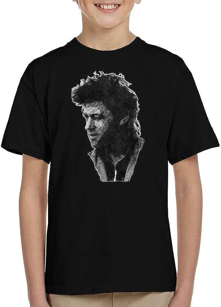 TV Times Pop Singer Bob Geldof 1986 Kids T-Shirt