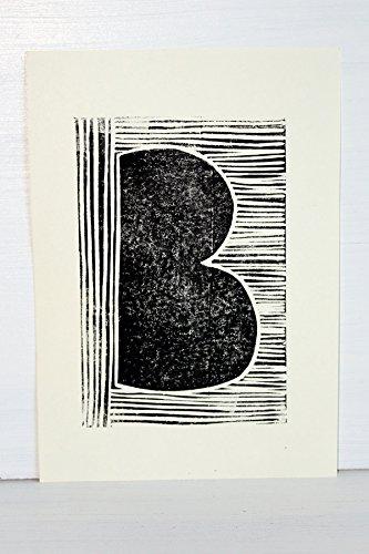 EKone Original Lino Print - B
