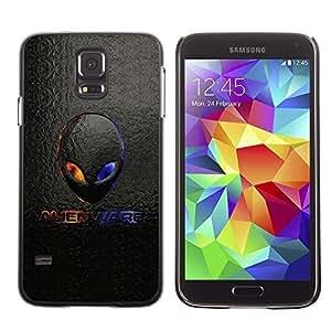 GagaDesign Phone Accessories: Hard Case Cover for Samsung Galaxy S5 - Alien Logo