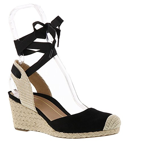 Black Maris Vionic Wedge Sandals Women's in qXwaZ7fX