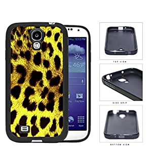 Exotic Leopard Print Series pc Silicone pc Cell Phone Case Cover Samsung Galaxy s4 sIV I9500 (Yellow)