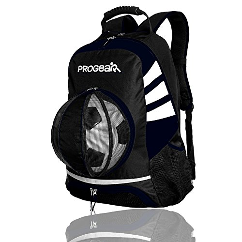 Soccer Backpack w/Ball Pocket – Sports Ball Bag Holds it all!