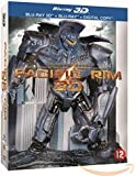 Pacific Rim (3D & 2D) Disc Box Set & Molded Robot Statue (3D & 2D) (+ Digital Copy) (Blu-Ray)