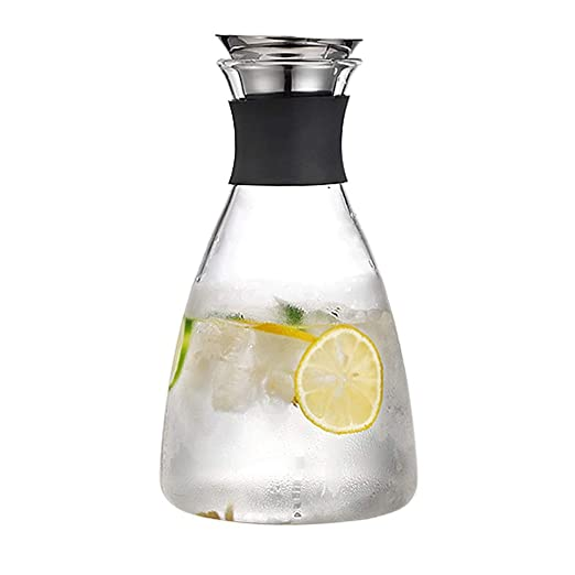 Tetera de vidrio, tetera de vidrio de borosilicato, tetera de agua ...