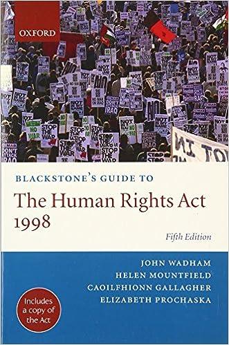 Human rights act 1998.