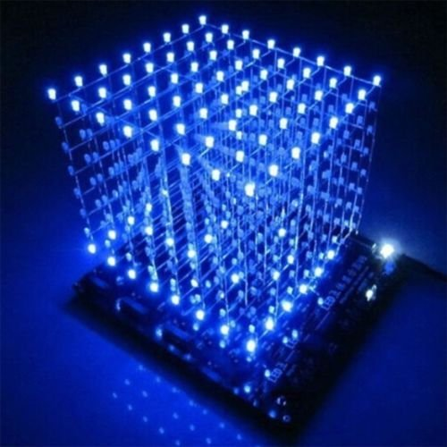 Led Light Cube 8X8X8 - 4
