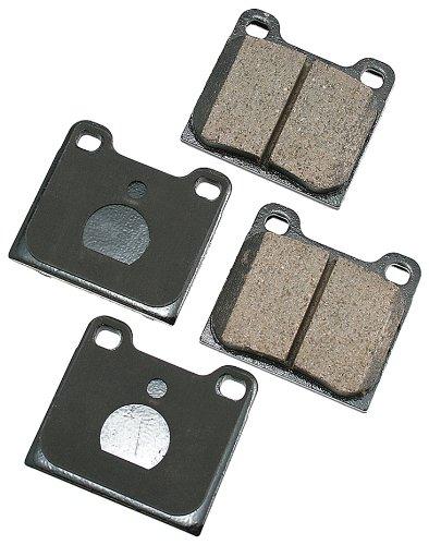(Akebono EUR541 EURO Ultra-Premium Ceramic Brake Pad Set)