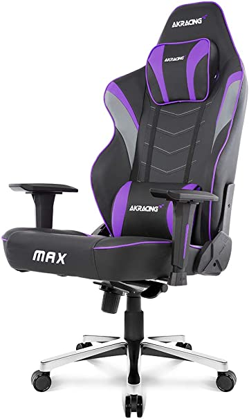 AKRacing Masters Series Max Chair with Wide Flat Seat - Runner Up