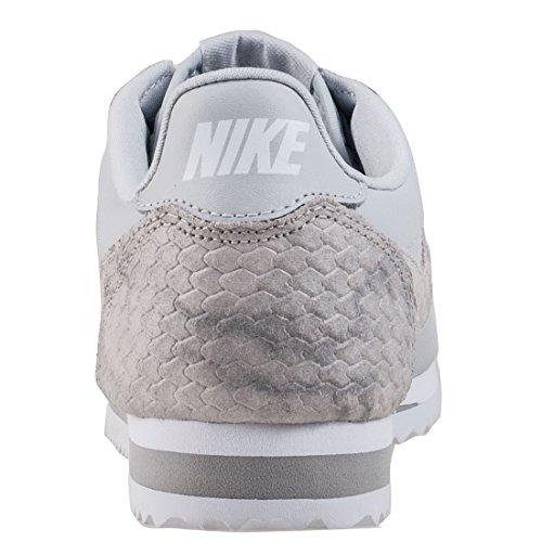 Nike Vrouwen Klassieke Cortez Leer Toevallige Schoen Zuiver Platina / Zuiver Platina