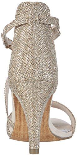 Marco Tozzi 28316 - Sandalias de tobillo Mujer Plateado - Silber (PLATINUM COMB 980)