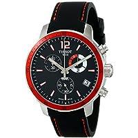 Tissot Quickster Chronograph Black Dial Men's Watch