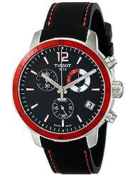 Tissot Mens T0954491705701 Quickster Analog Display Swiss Quartz Black Watch