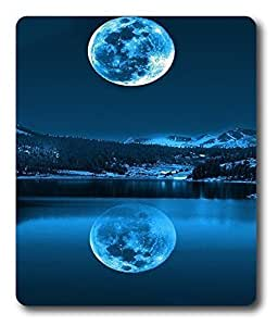 black mats The Reflection Of The Moon PC Custom Mouse Pads / Mouse Mats Case Cover