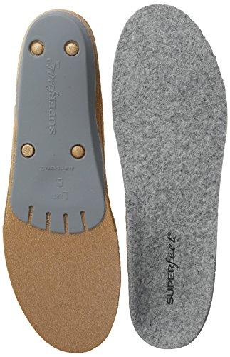 Superfeet Merino Grey, Solette-Comfort Unisex