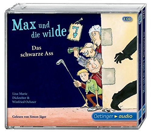 Max und die Wilde Sieben. Das schwarze Ass 3 CD: Band 1, Gekürzte Lesung