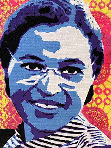 (Rosa Parks Art Print 8x10 Inches Signed )