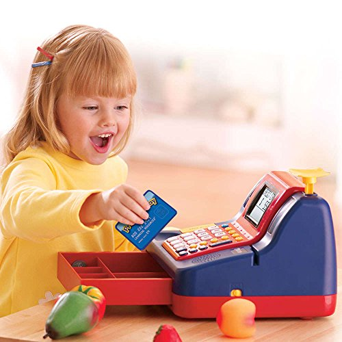 51Zuxl3A9IL - Learning Resources Pretend & Play Teaching Cash Register [Standard Packaging]
