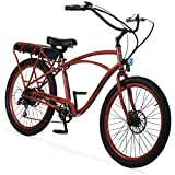 "Pedego Interceptor 26"" Classic Sandstone with Black Balloon Package 48V 10Ah"