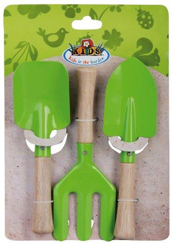 Cheap  Esschert Design USA KG106 Childrens Small Garden Tool Set, Green
