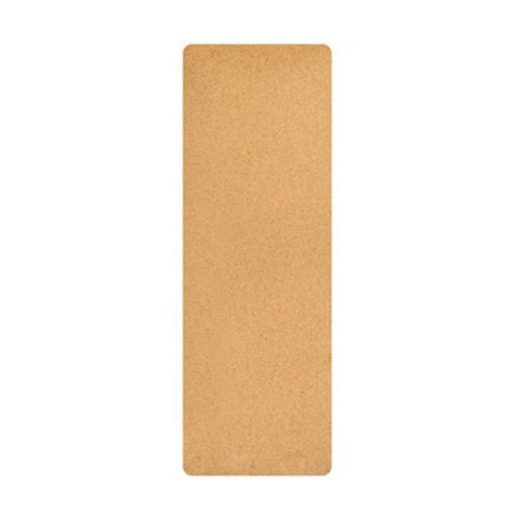 自然な針葉樹TPEのヨガのマットの体育館の練習のマット5mmの滑り止めの汗吸収剤の無臭のヨガのマット (色 : Rubber smooth surface, サイズ さいず : Thick -0.5MM) B07R8D6TJF  Rubber smooth surface Thick -0.5MM