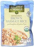 Seeds of Change Microwavable Rice, Whole Grain Brown Basmati Rice, 8.5 Oz (Pa...